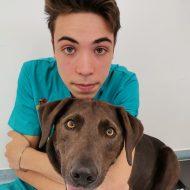 Dustin mit Hund